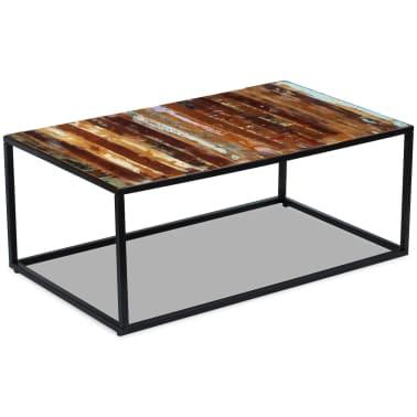 La boutique en ligne vidaxl table basse bois de for Table basse recuperation