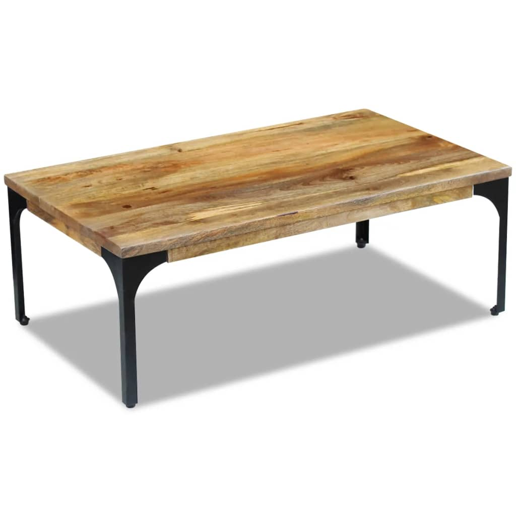 Vidaxl Coffee Table Mango Wood 100x60x35 Cm