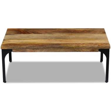 acheter vidaxl table basse bois de manguier 100 x 60 x 35 cm pas cher. Black Bedroom Furniture Sets. Home Design Ideas