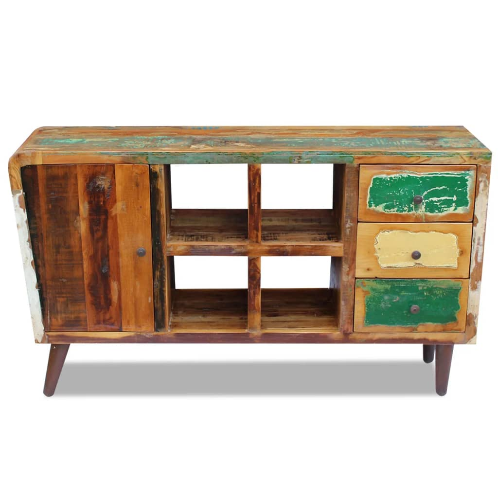 Vidaxl sideboard solid reclaimed wood 150x40x86 cm for Sideboard 240
