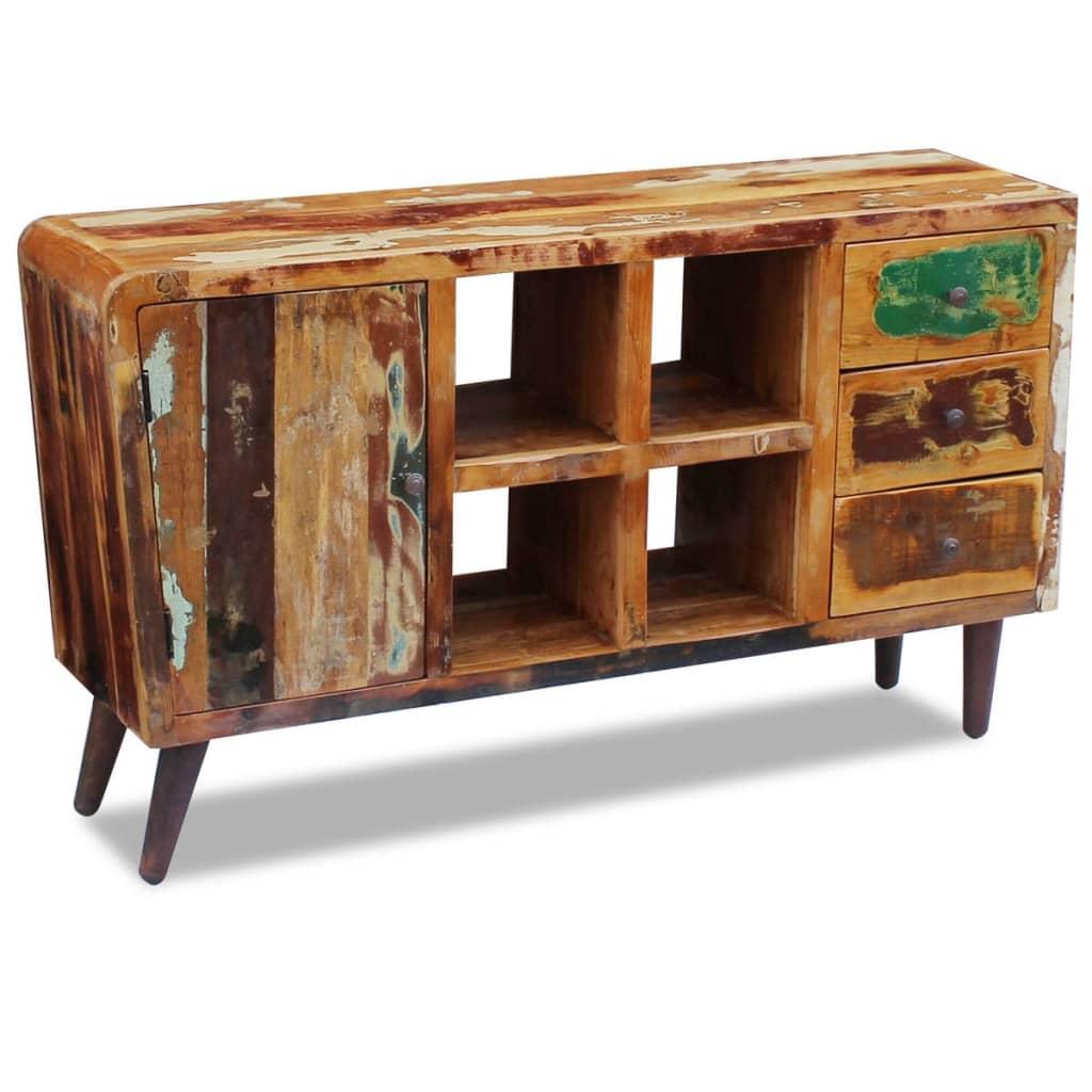 vidaXL Kredens z drewna odzyskanego 150x40x86 cm