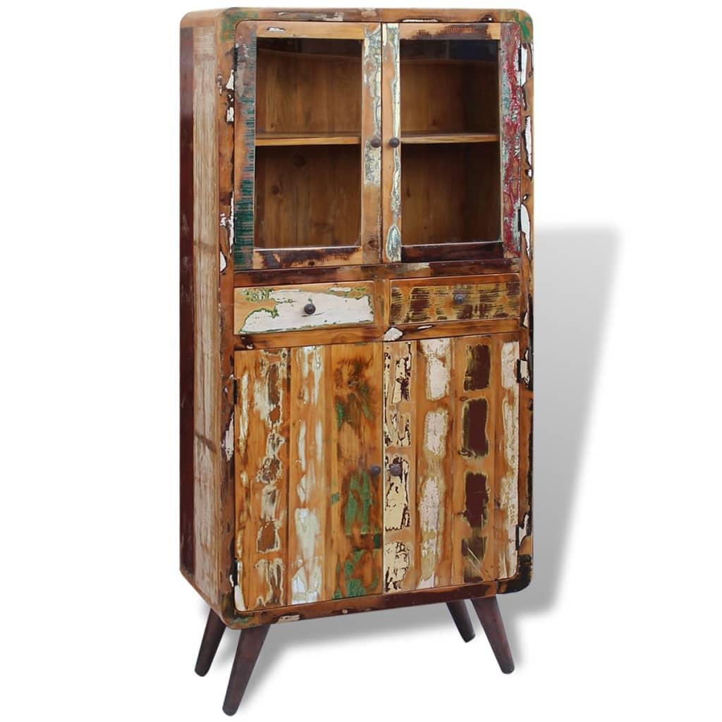 VidaXL Küchenschrank Recyceltes Massivholz 90x40x190 Cm