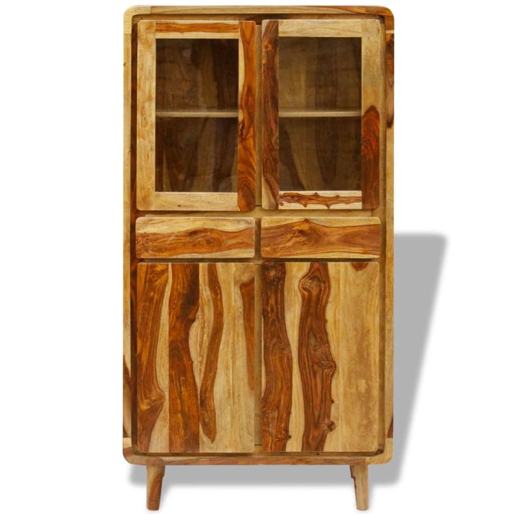 Vidaxl sideboard sheesham wood 90x40x175 cm for Sideboard 40 cm