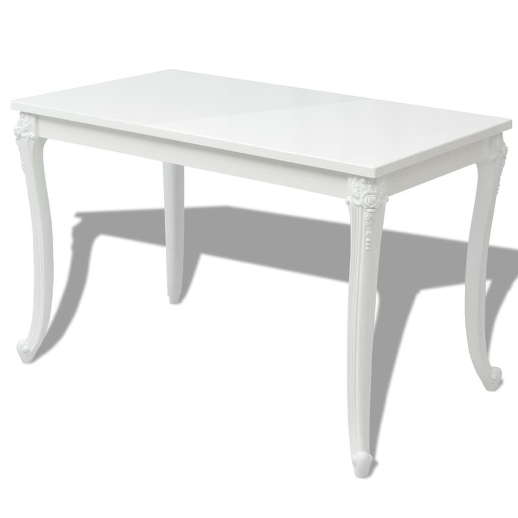 vidaxl st do jadalni bia y wysoki po ysk 120x70x76 cm. Black Bedroom Furniture Sets. Home Design Ideas