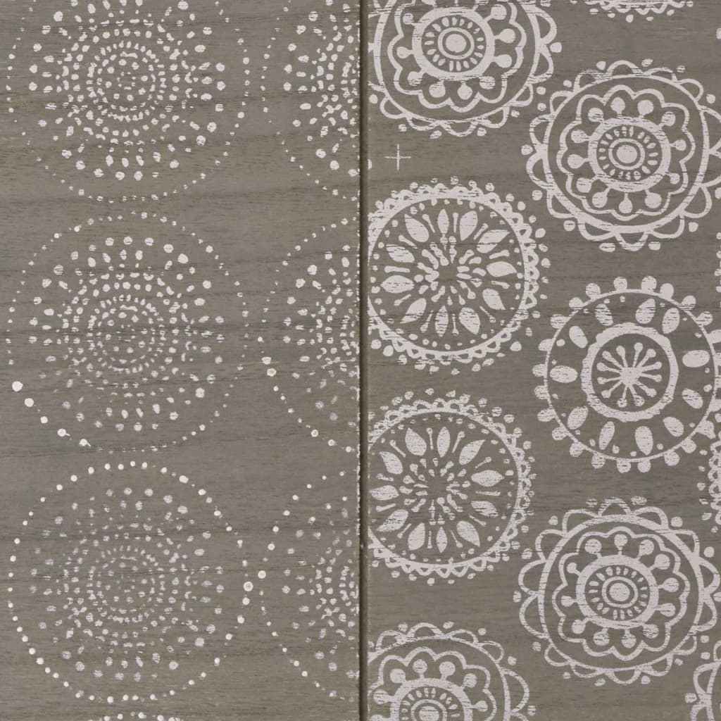 acheter vidaxl table console 90 x 30 x 71 5 cm gris pas cher. Black Bedroom Furniture Sets. Home Design Ideas