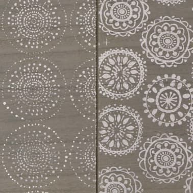 "vidaXL Console Table 35.4""x11.8""x28"" Gray[5/7]"