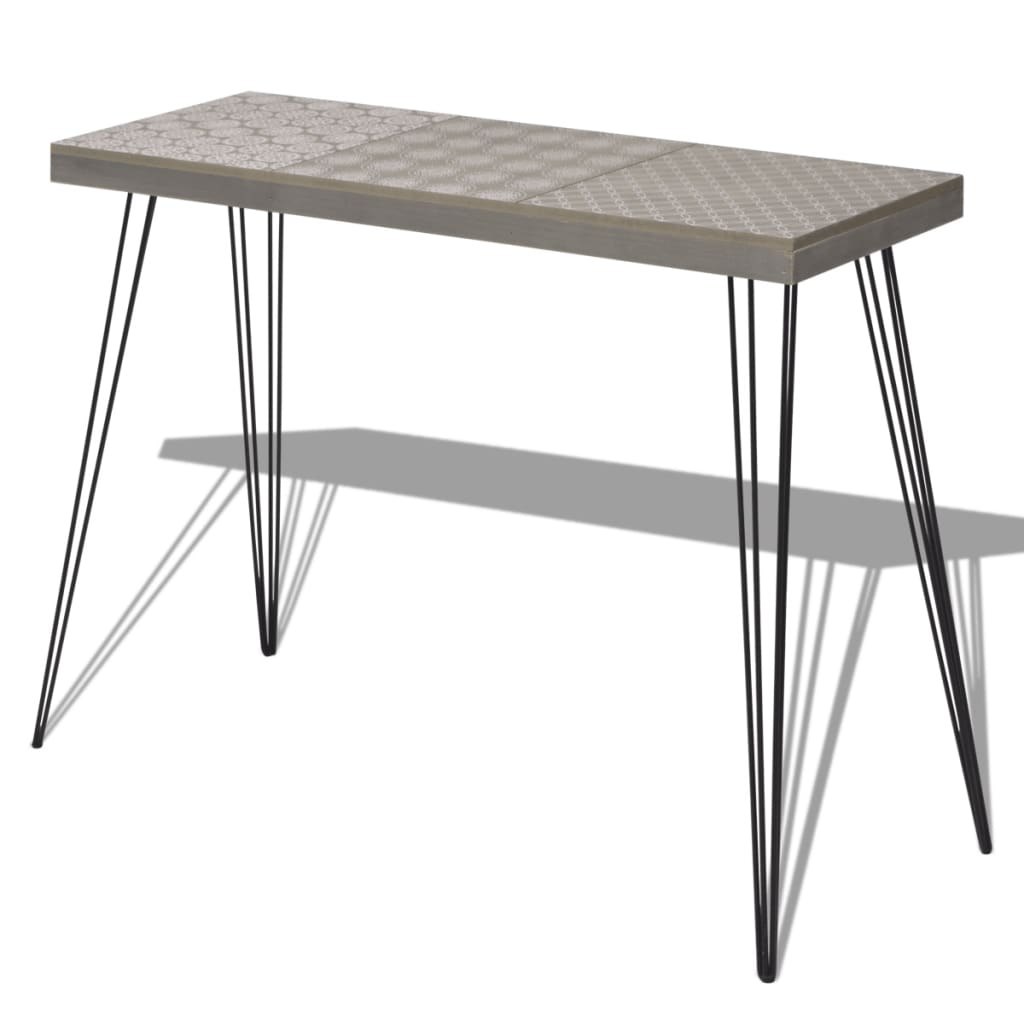 La boutique en ligne vidaxl table console 90 x 30 x 71 5 - Console 30 cm ...