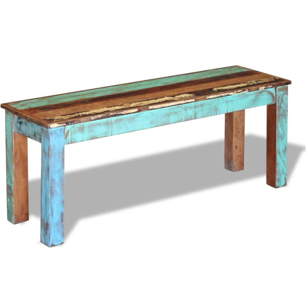La boutique en ligne vidaxl banc bois massif de - Association de recuperation meubles gratuit ...