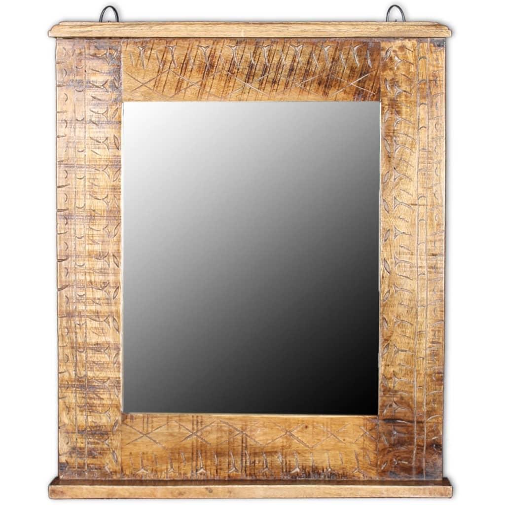 Acheter vidaxl meuble de salle de bain avec miroir bois for Acheter miroir salle de bain