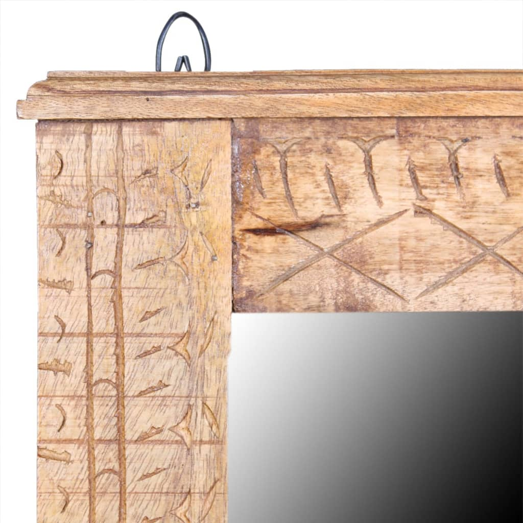 Acheter vidaxl meuble de salle de bain avec miroir bois for Meuble salle de bain avec miroir pas cher