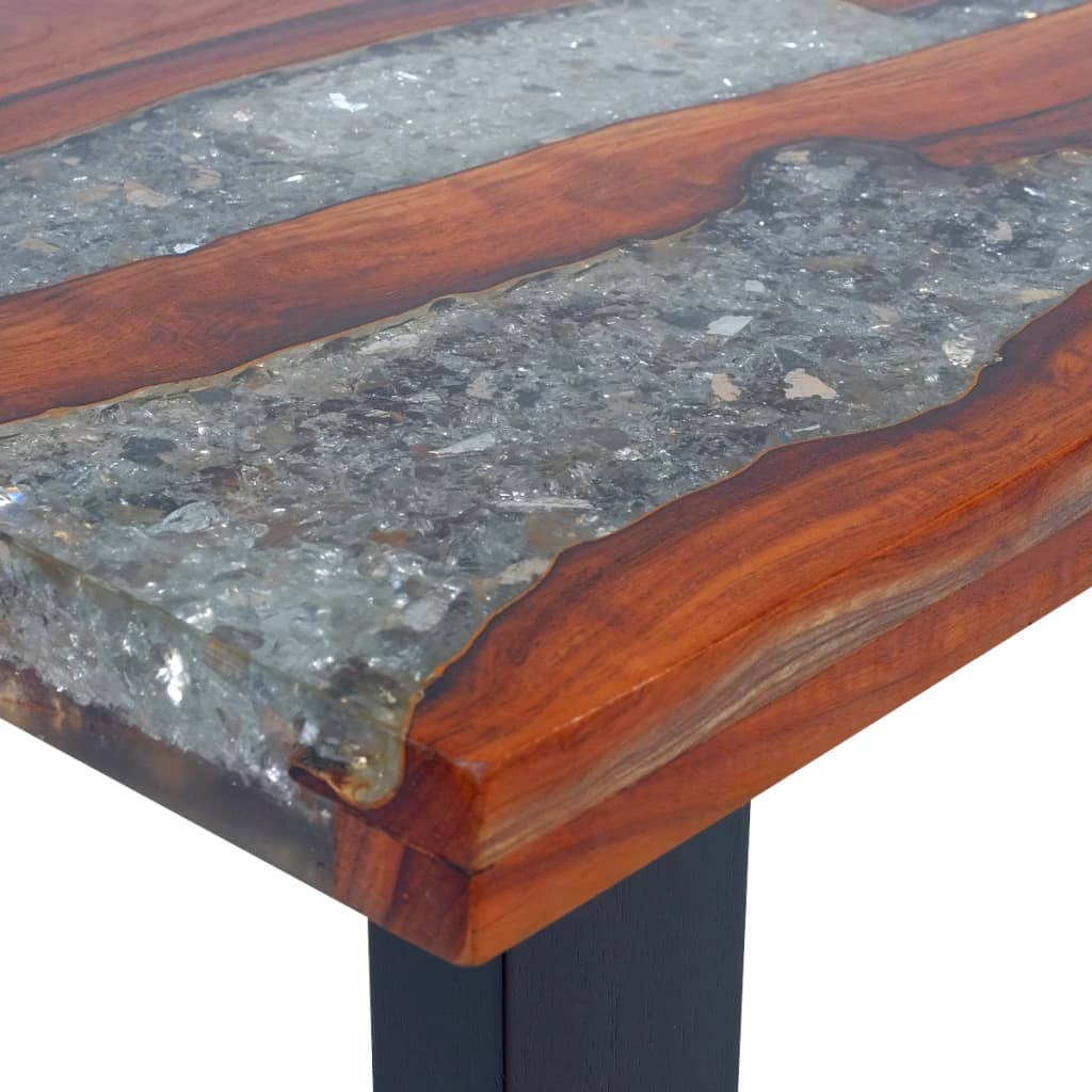 Vidaxl Coffee Table Teak Resin