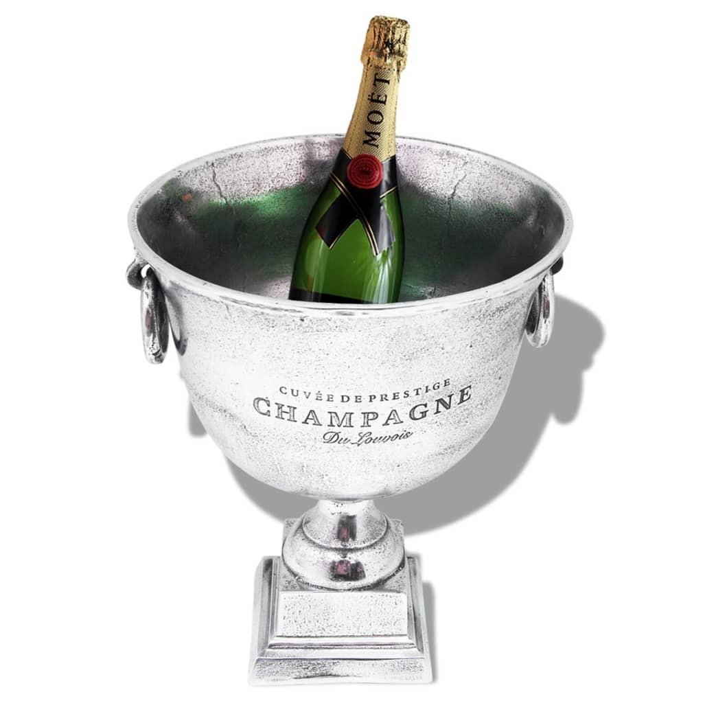 Vidaxl trofeo coppa di champagne refrigeratore alluminio for Giardino trofeo