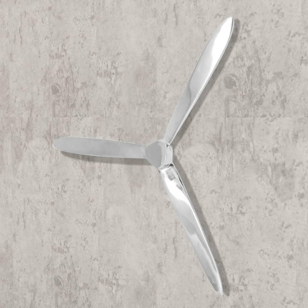 Vidaxl Wall Mounted Propeller Aluminum Silver 27 6