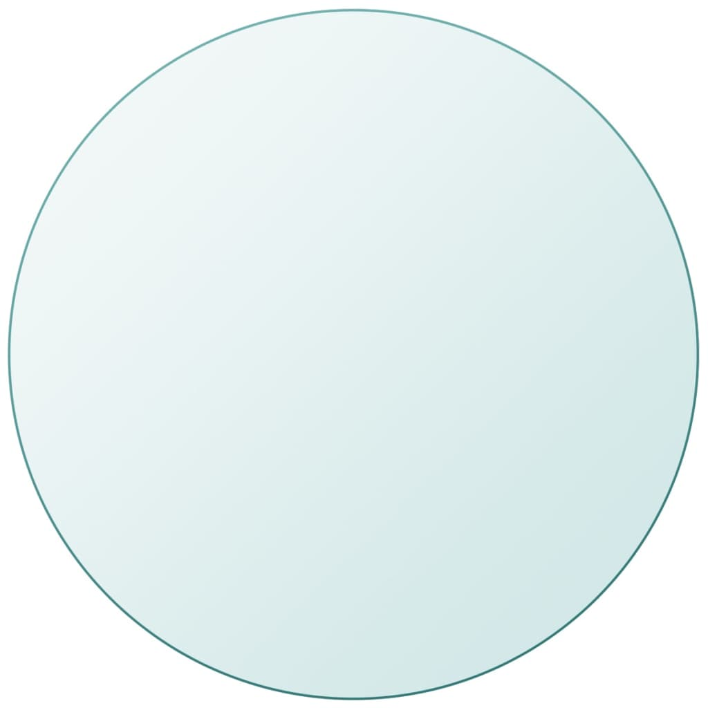 vidaXL edzett üveg asztallap kerek 500 mm