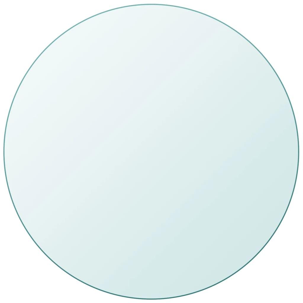 vidaXL edzett üveg asztallap kerek 600 mm