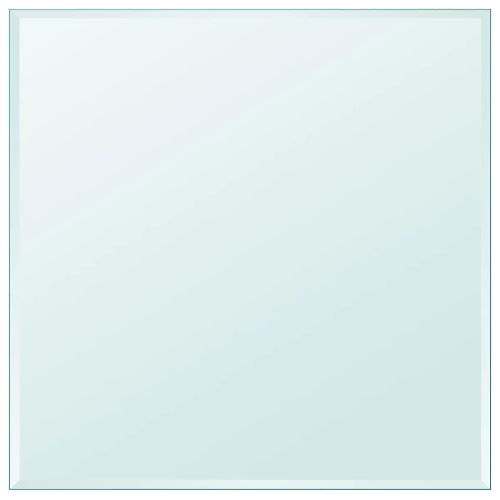 vidaXL edzett üveg asztallap négyszögletes 800x800 mm