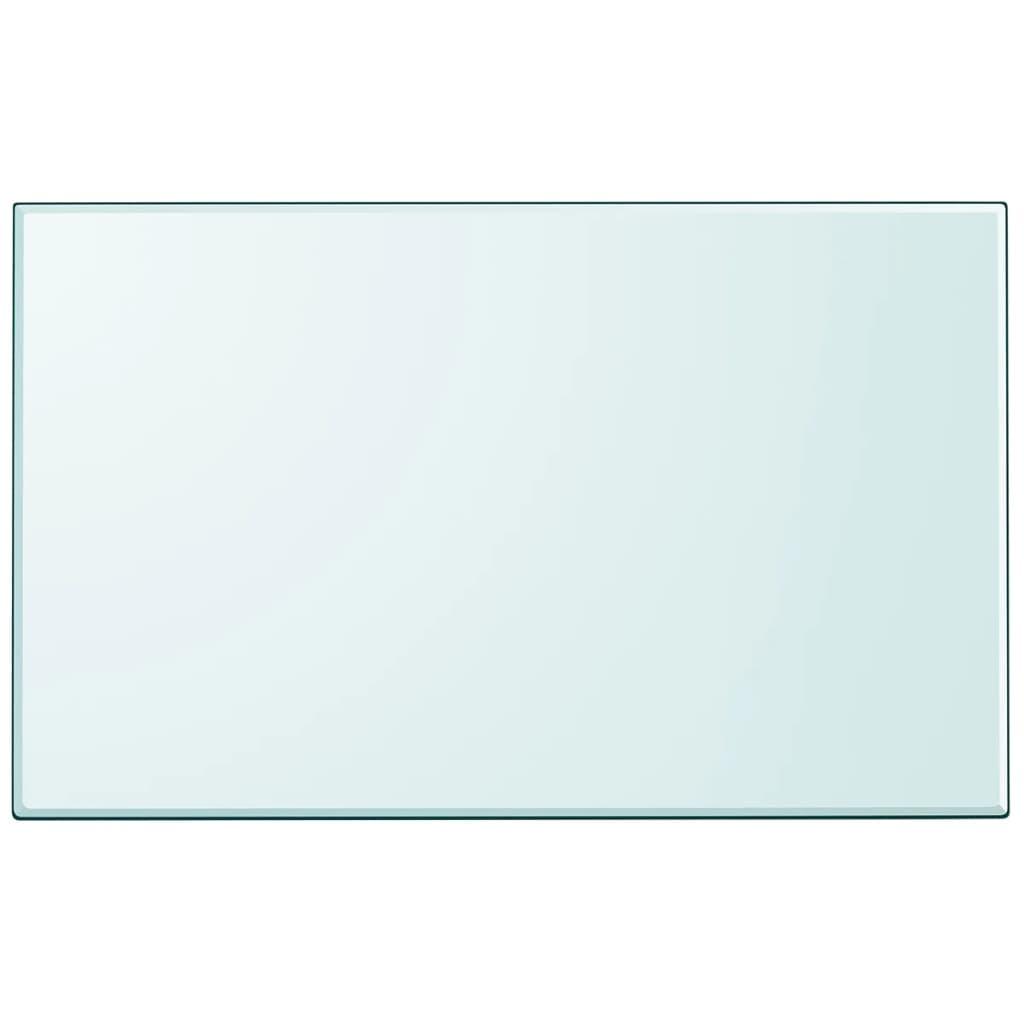 vidaXL edzett üveg asztallap téglalap alakú 1000 x620 mm