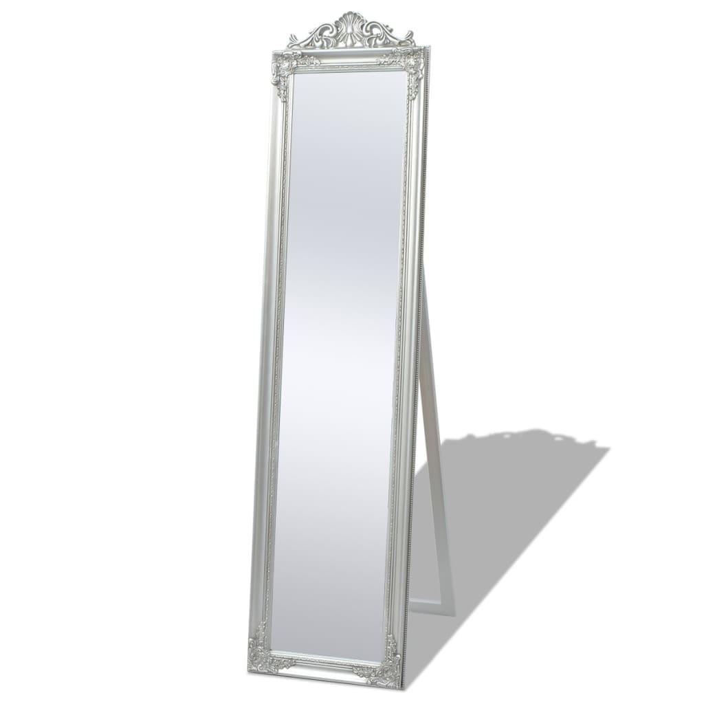 Acheter vidaxl miroir sur pied style baroque 160 x 40 cm for Miroir 160 cm