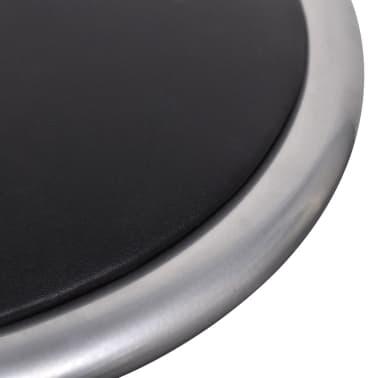 vidaXL Foldable Stools 4 pcs Artificial Leather[6/7]
