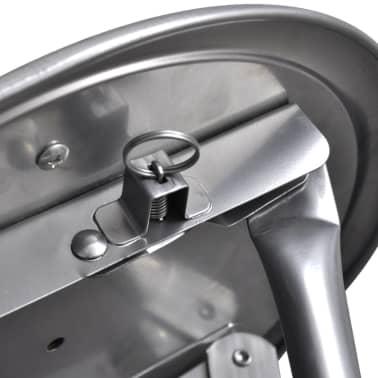 vidaXL Foldable Stools 4 pcs Artificial Leather[7/7]