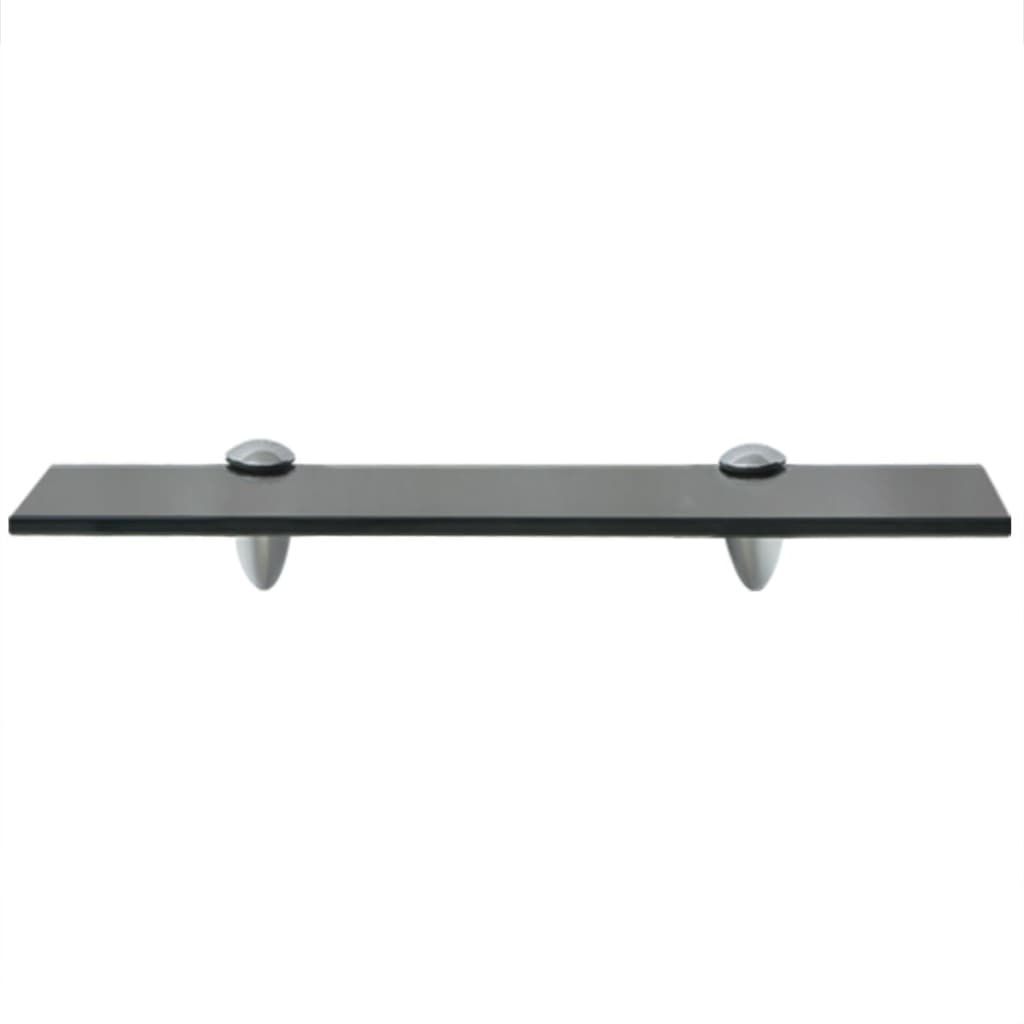 Vidaxl floating shelf glass 40x10 cm 8 mm for 10 x 40 window