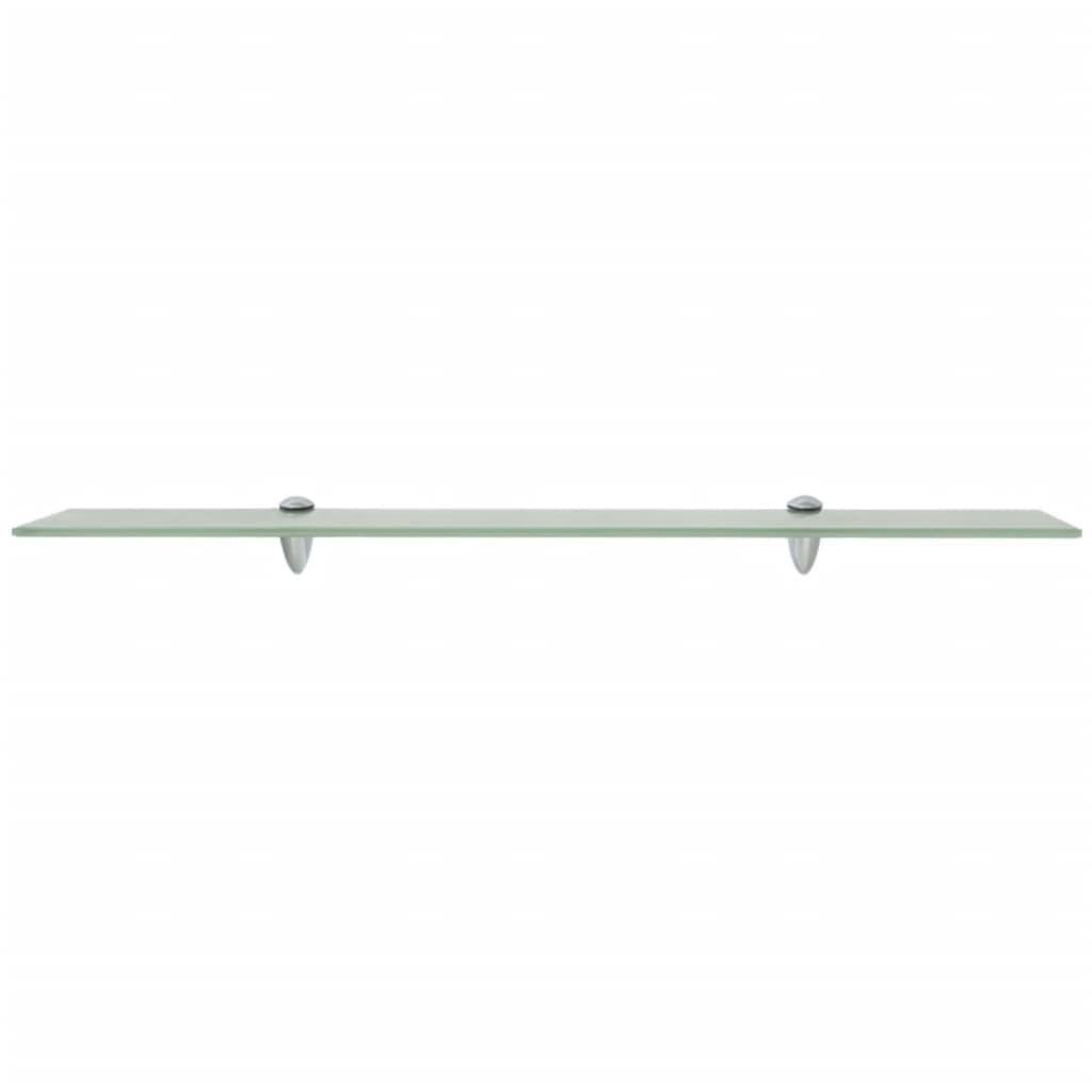 vidaxl schwebendes regal glas 80x10 cm 8 mm g nstig kaufen. Black Bedroom Furniture Sets. Home Design Ideas