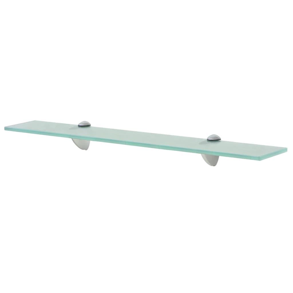 vidaxl schwebendes regal glas 60x20 cm 8 mm g nstig kaufen. Black Bedroom Furniture Sets. Home Design Ideas