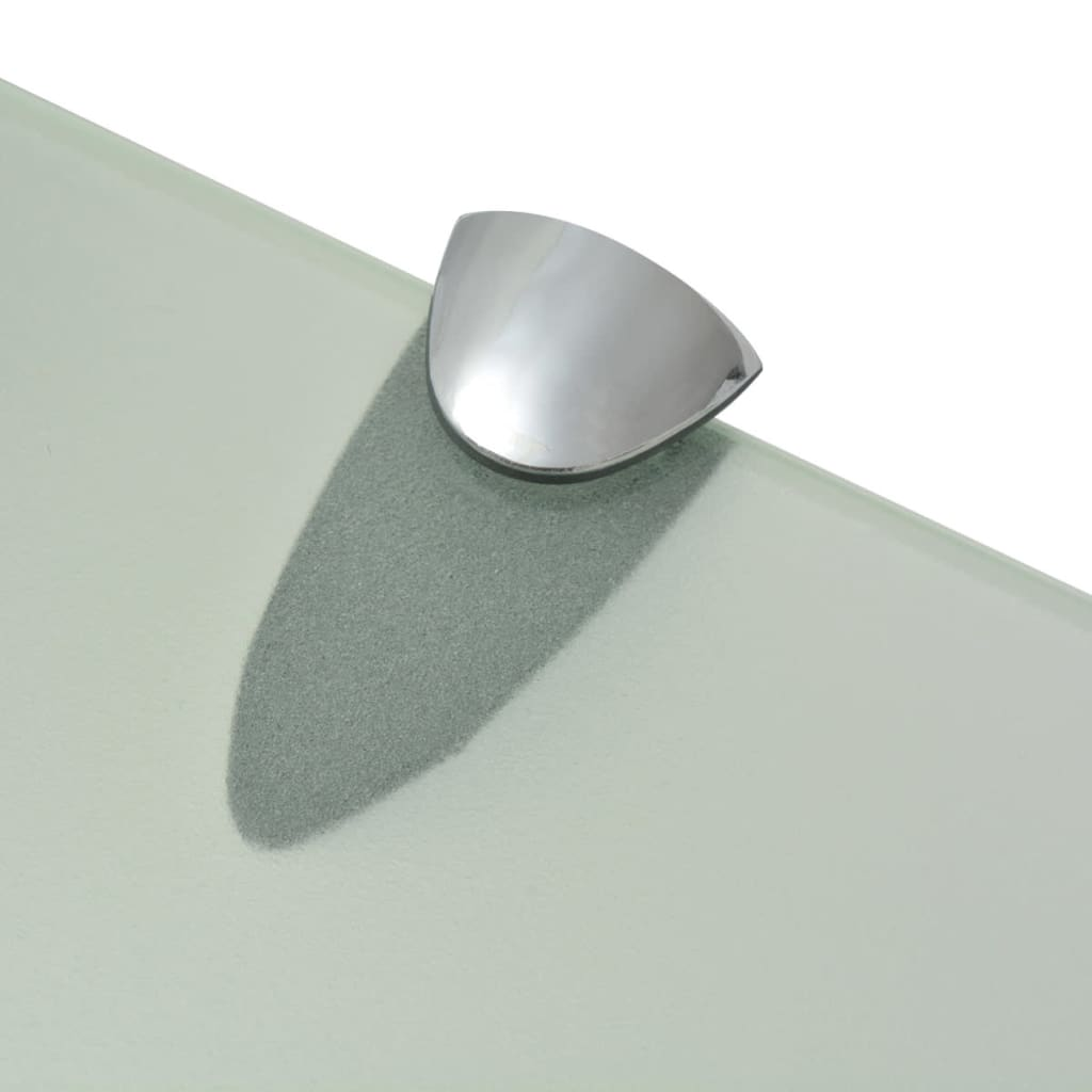 vidaxl schwebendes regal glas 80x20 cm 8 mm g nstig kaufen. Black Bedroom Furniture Sets. Home Design Ideas