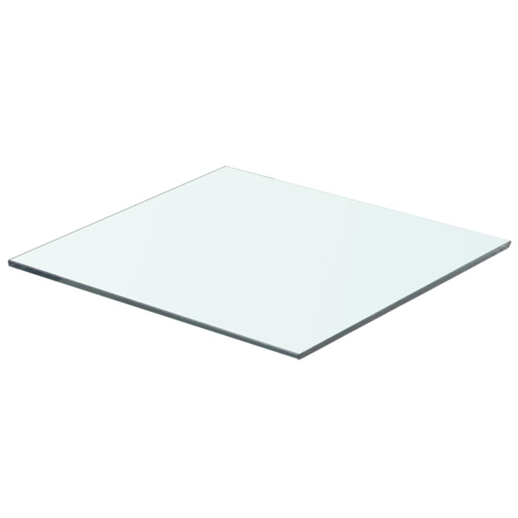 acheter vidaxl panneau pour tag re verre transparent 40 x On panneau pour etagere