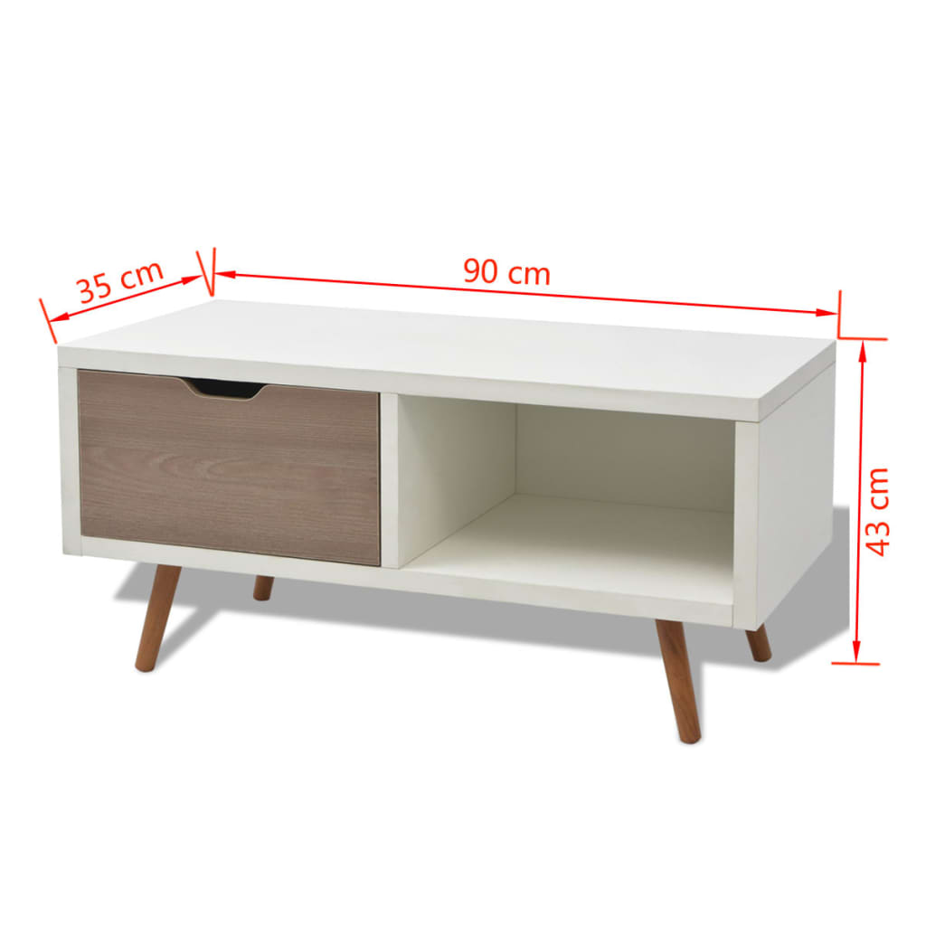 acheter vidaxl meuble de t l viseur 90 x 35 x 43 cm blanc pas cher. Black Bedroom Furniture Sets. Home Design Ideas