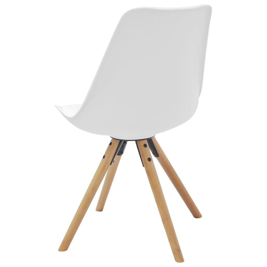 Acheter vidaxl chaise de salle manger 4 pcs cuir for Acheter chaises de salle a manger