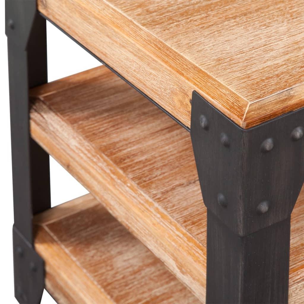 Vidaxl mobile porta tv in legno massello di acacia - Porta tv in legno ...