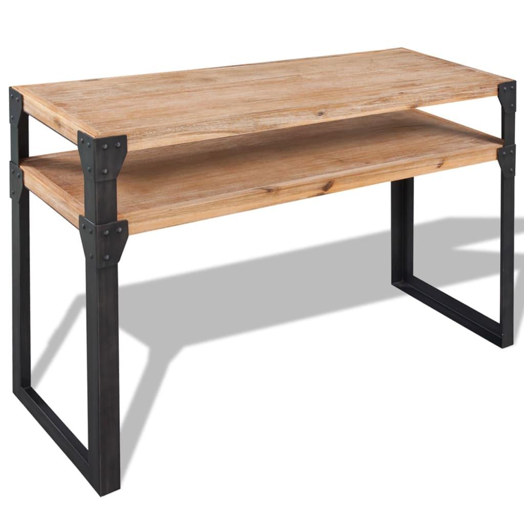 acheter vidaxl table console bois d 39 acacia massif 120 x 40
