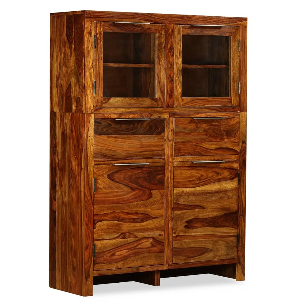 vidaXL Kredens z drewna sheesham, 100 x 35 140 cm