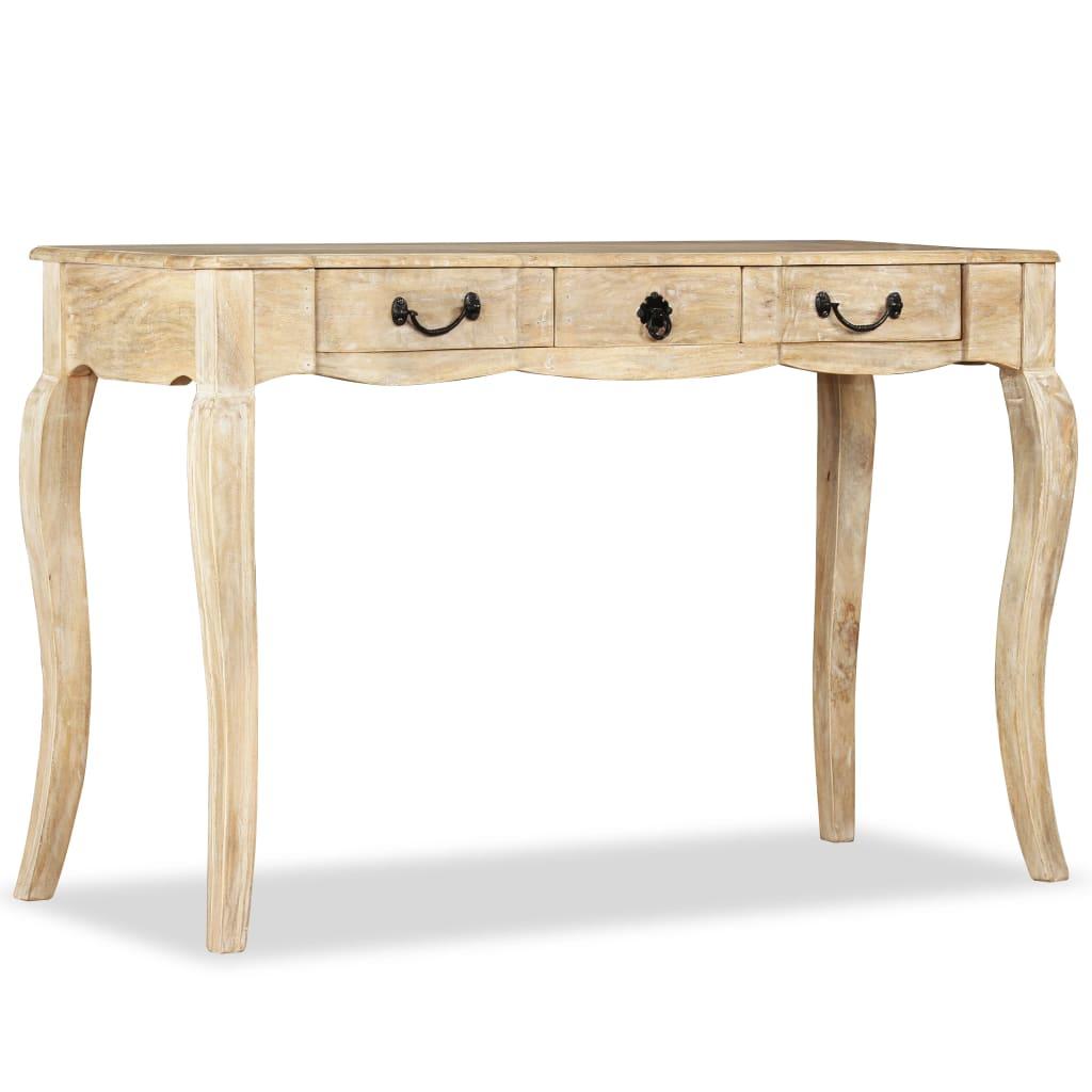 vidaXL tömör mangófa tálalóasztal 120 x 50 80 cm