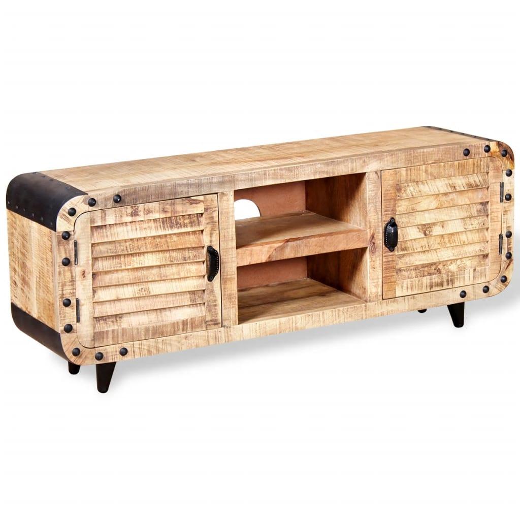 vidaXL nyers mangófa TV-szekrény 120 x 30 50 cm