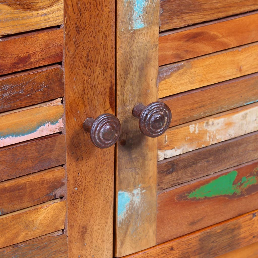 244017 Vidaxl Coffee Table Solid Reclaimed Wood 80x50x40 Cm