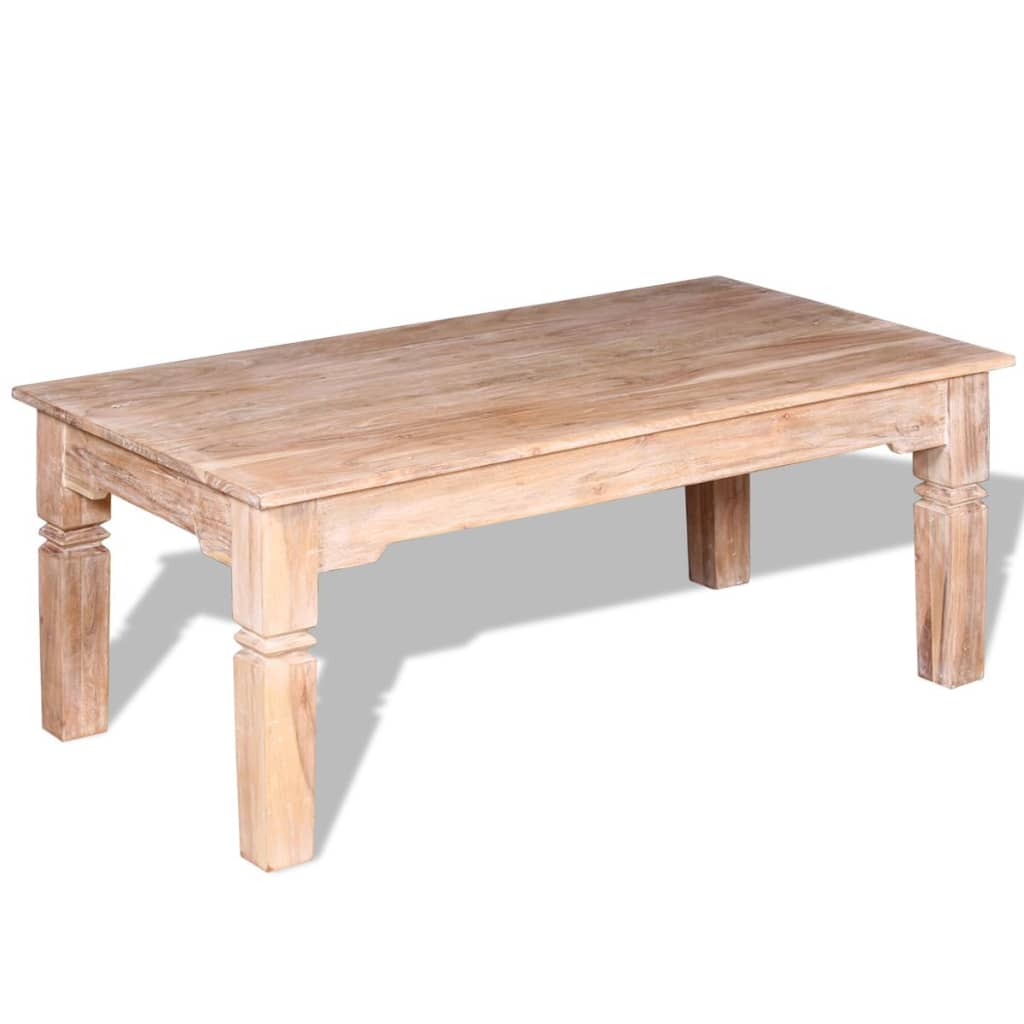 acheter vidaxl table basse bois d 39 acacia 110 x 60 x 45 cm pas cher. Black Bedroom Furniture Sets. Home Design Ideas
