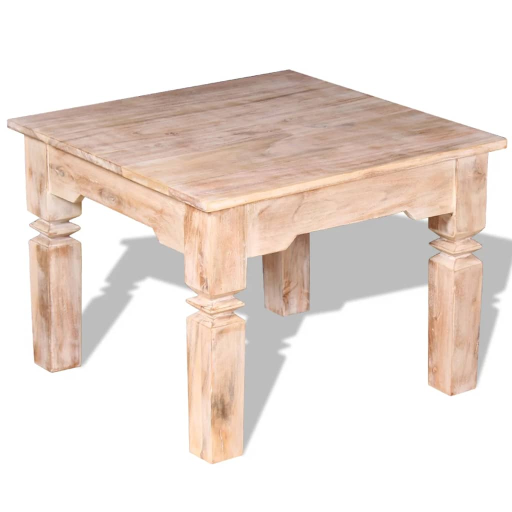 Vidaxl Coffee Table Acacia Wood 60x60x45 Cm Vidaxl Co Uk