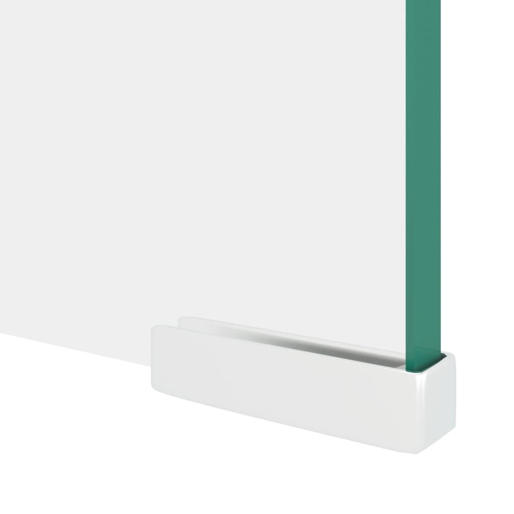 Acheter Vidaxl Meuble Tv De Moniteur 110 X 30 X 13 Cm Verre  # Meuble Tv Transparent