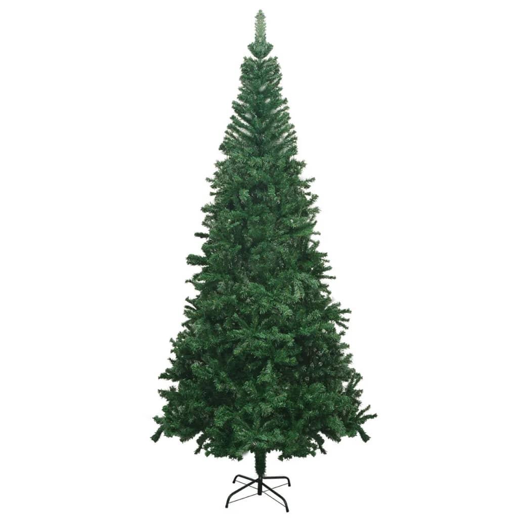 vidaxl k nstlicher weihnachtsbaum l 240 cm gr n g nstig. Black Bedroom Furniture Sets. Home Design Ideas