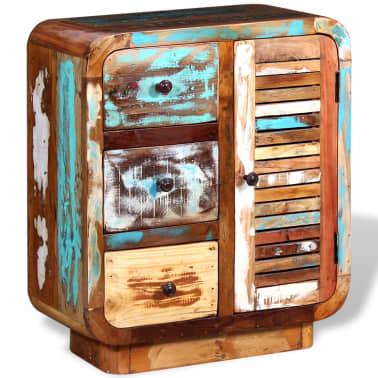 acheter vidaxl buffet bois de r cup ration massif pas cher. Black Bedroom Furniture Sets. Home Design Ideas
