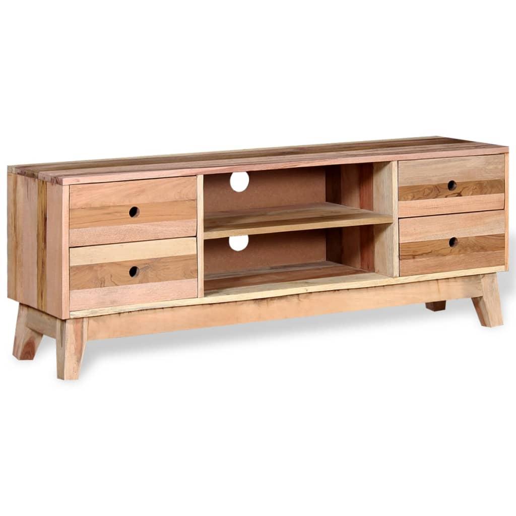 vidaxl tv schrank recyceltes massivholz g nstig kaufen. Black Bedroom Furniture Sets. Home Design Ideas