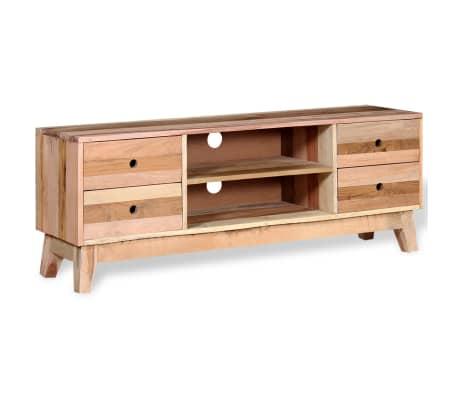 Acheter vidaxl meuble tv bois de r cup ration massif pas for Acheter du bois pour meuble