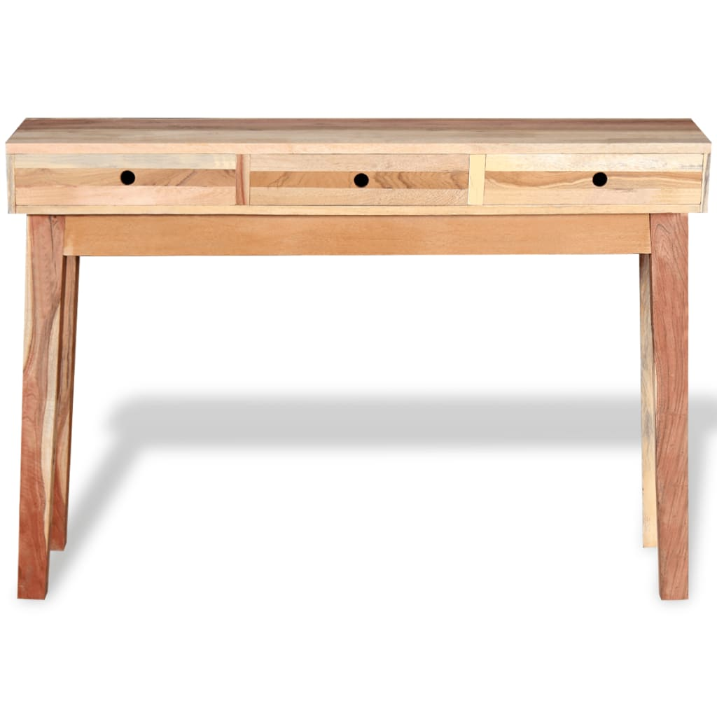 Console Table Woodworking ~ Vidaxl console table solid reclaimed wood