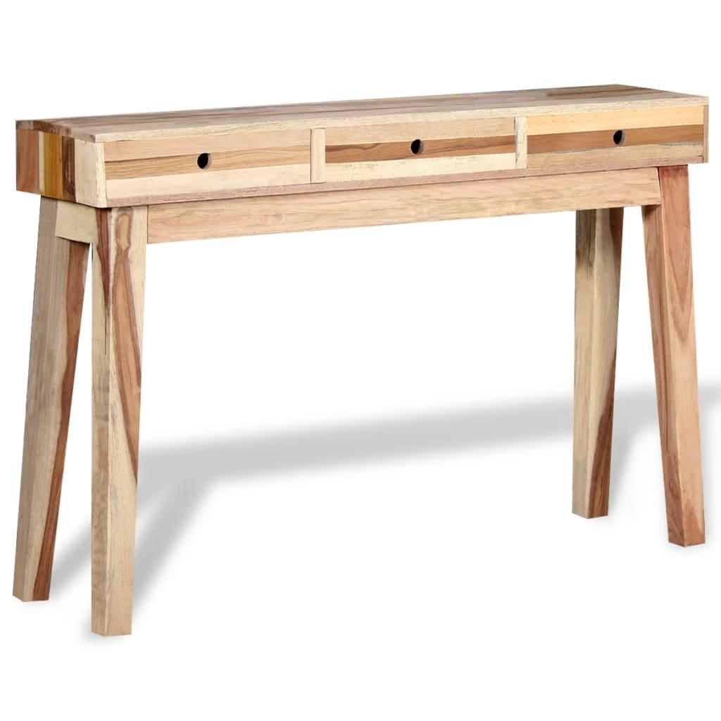 vidaXL tömör újrahasznosított fa tálalóasztal