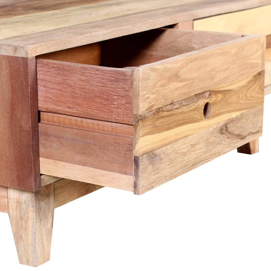 Vidaxl mesa de centro de madera reciclada maciza for Mesa de centro madera maciza