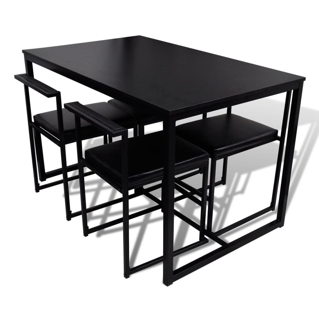 Acheter vidaxl ensemble de table et de chaises de salle for Ensemble table et chaises de salle a manger