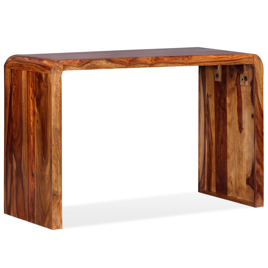 vidaXL Kredens/biurko, lite drewno sheesham, brązowe