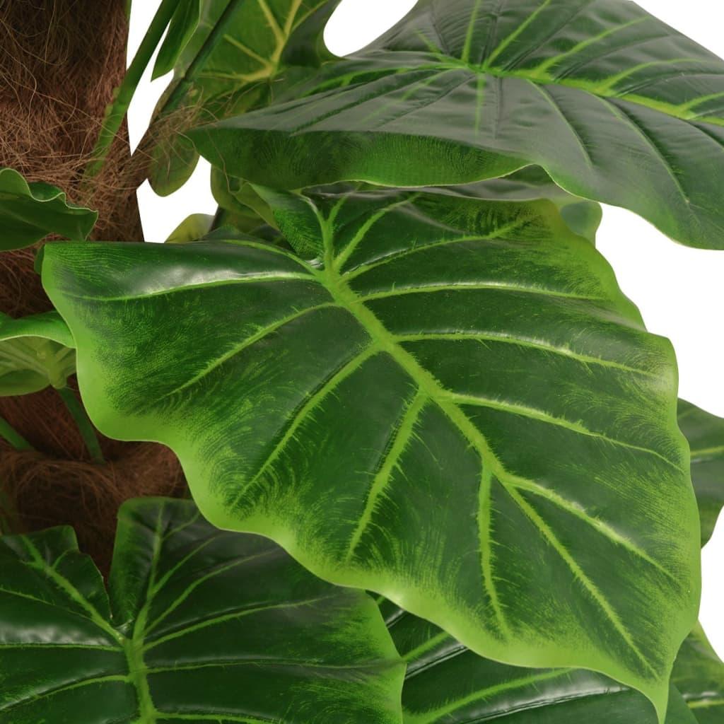 vidaxl k nstliche taro pflanze mit topf 145 cm gr n im vidaxl trendshop. Black Bedroom Furniture Sets. Home Design Ideas